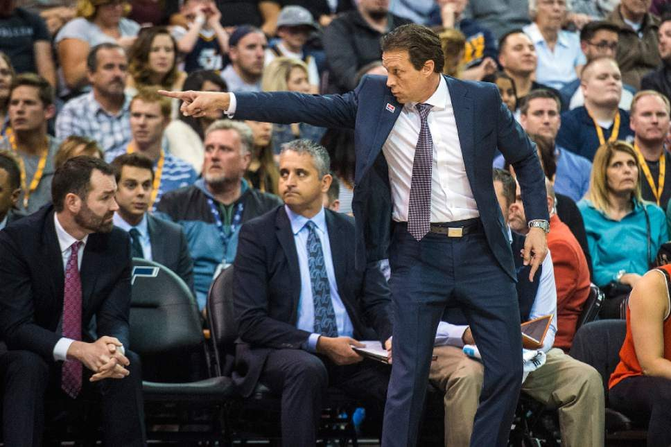 Utah coach Quin Snyder got it out the mud en route to the 2018 NBA Playoffs.