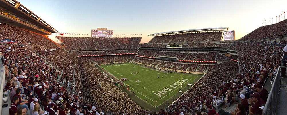 The scene on Saturday night in College Station was the sport we signed up for.