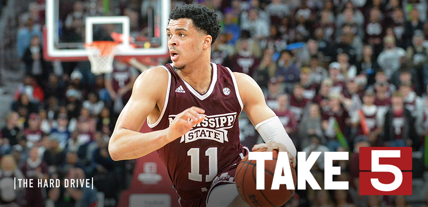 Take Five: State Sizzles – March Madness in the 'Sip – Spring Ball